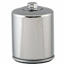 HiFlo Oil Filter with Back Flow Valve  Racing - Chrome HF171CRC*