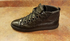Balenciaga 'Arena' High Top Black Mens Size 13 US 46 Eur. Sneakers MSRP $645