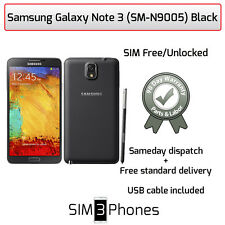 Samsung Galaxy Note 3 (SM-N9005) 32GB Black (Unlocked) Average Condition/Grade C