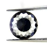 1.35TCW 6.8 MM Round Rose cut Jet Black AAA Color African Natural Loose Diamond