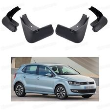 4Pcs Mud Flaps Splash Guard Fender Mudguard fit for 2015 Volkswagen Polo