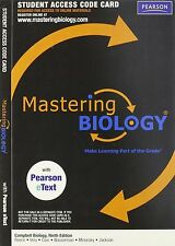 Mastering Biology Code works for Campbell Biology 9th or 10th + Mastering.