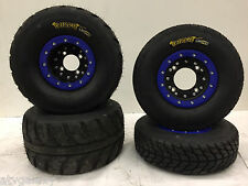 Hiper CF1 Beadlock Wheels Speedracer Tires Front/Rear Street Kit Yamaha YFZ450R