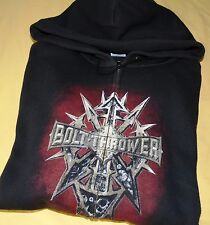 BOLT THROWER Hoodie L Tour 2010 Carcass Morbid Angel Asphyx Pungent Stench Shirt