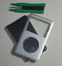 Silver iPod classic 7th 160GB back cover + front case kit (Thin back)
