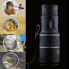 Day&Night Vision 40X60 HD Optical Monocular Hunting Camping Hiking Telescope