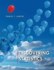 Discovering Statistics by Daniel T. Larose 2015,  ACCESS CODE in back