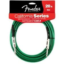 Fender® 20'  California Series Instrument Cable Surf Green # 0990520057