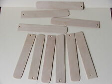 BOOKMARKS FOR PYROGRAPHY-BLANK 1.5mm BIRCH FACED PLY-10 FOR £3.49 incl POSTAGE