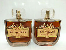 LES NEREIDES PATCHOULI ANTIQUE EDT 100 ML + EDT 100 ML 2 BOTTIGLIE PROFUMO SPRAY