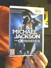 MICHAEL JACKSON THE EXPERIENCE  FOR THE WII GREAT XMAS GIFT FREE UK POST
