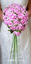 Brautstrauss Rosen light pink, Hochzeit. Braut, Neu, Brautkleid