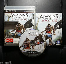 Assassins Creed IV 4 Black Flag (Sony PlayStation 3, 2013) PS3 - Very Good cond