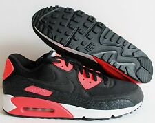 NIKE MEN AIR MAX 90 iD BLACK-PINK-WHITE SZ 13  [653533-992]