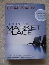 God in the Marketplace~45 Questions Fortune 500 Execs Ask by Henry & R Blackaby