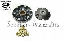 REPLACEMENT VARIATOR + ROLLERS for SUZUKI AP 50,Address,Sepia 50 (Morini Engine)
