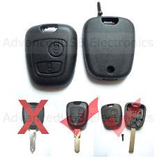 2 BTS Remote Key FOB CASE For Peugeot 107 207 307 407 406 806 Citroen C1-C5