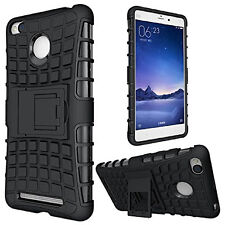 High Quality Xiaomi redmi 3s & prime Defender Armor Dual layer stand Case cover