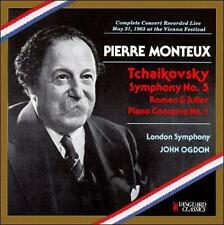 Tchaikovsky - Pierre Monteux Conducts New Sealed 2 CD Set MHS Club Edition 1960