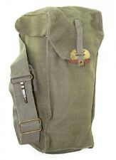 (1) British WWII genuine army surplus shoulder bag for soldiers troops