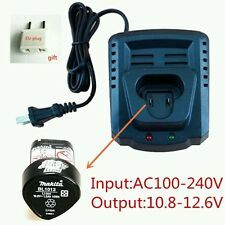 Li-ion Battery Charger for Makita BL1013 BL1014 10.8V Li-ion Battery DC10WA