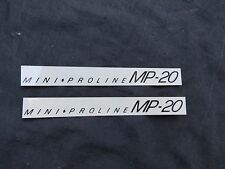 REDLINE DECALS MINI PROLINE MP20 BMX STICKERS VINTAGE NOS
