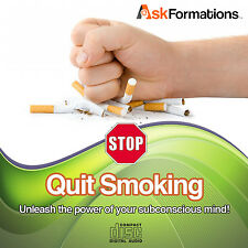 Stop Quit Smoking Success Overcome Cigarette Addiction Subliminal Hypnosis CD