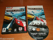TEST DRIVE UNLIMITED -   PC-DVD  with paper manual