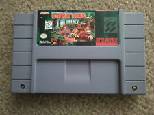 Donkey Kong Country 1 one Super Nintendo SNES Vintage original game Cartridge