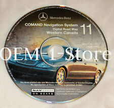 2000 2001 MERCEDES C240 C320 E320 E430 E55 AMG NAVIGATION MAP DISC CD CDS CANADA