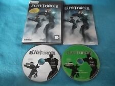 STAR TREK ELITE FORCE II 2 LIMITED EDITION PC-CD FPS SHOOTER V.G.C. FAST POST
