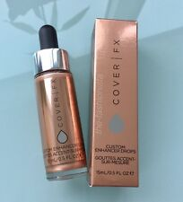 COVER FX Custom Enhancer Drops New Shade ROSE GOLD + FREE GIFT!  SHIPS NOW! ��