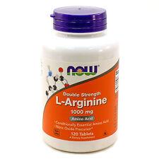 Now Foods L-ARGININE 1000 mg Amino Acid Powerhouse - 120 tablets BUILD MUSCLE