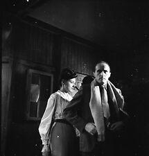 René CLAIR 1947 - Tournage Le Silence est d'Or - Négatif 6 x 6 - 131