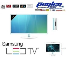 "SAMSUNG TV Led Full HD 24"" POLLICI MONITOR T24D391E WHITE BIANCO HDMI USB PIP"