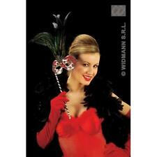 Terciopelo Rojo Guantes Terciopelo 56 Cm Moulin Rouge puede puede Fancy Dress Accesorio