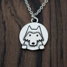 Cute Boho Chic Wolf Necklace