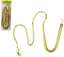 GOLD BULLWHIP 6 FOOT bull whip costume props NEW accessories prop whips new item