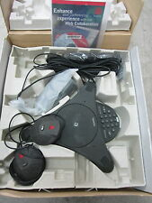 USED IN BOX Polycom Soundstation Premier Full Duplex Conference Phone