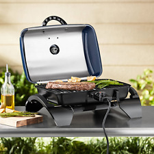 Tabletop Electric Grill BBQ Portable Indoor Barbecue  Adjustable Outdoor/Indoor