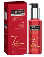 TRESEMME KERATIN SMOOTH 7 DAYS HEAT ACTIVETED TREATMENT smooth hair long lasting