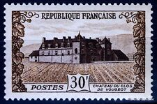 TIMBRE FRANCE NEUF N° 913 ** CHATEAU CLOS VOUGEOT