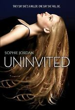 Uninvited by Jordan, Sophie, Good Book