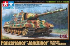 Tamiya America [TAM] 1/48 German Heavy Tank Destroyer Jagdtiger Plastic Model