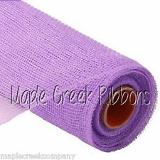 LAVENDER 21in x 10yd DECO POLY MESH wreaths or wrapping (30 feet of mesh)
