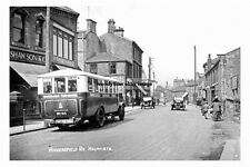 pt2329 - Bus on Huddersfield Road , Holmfirth , Yorkshire - photograph 6x4