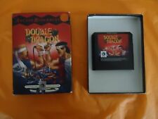 Double Dragon 1 Arcade Blockbuster Ballistic Sega Genesis 1992 w/Box game WORKS