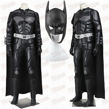 Batman The Dark Knight Rises Black Batman Cosplay Costume Outfit Custom Made