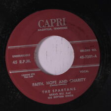 SPARTANS: Lost / Faith, Hope And Charity 45 (repro) Vocal Groups