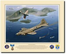 An Expensive Mission (Artist Proof) by Jack Fellows - B-17 90th BG
